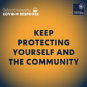 Keep protecting yourself and the community