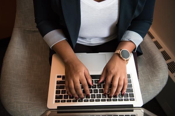 man using mac book