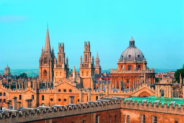 Oxford skyline spires